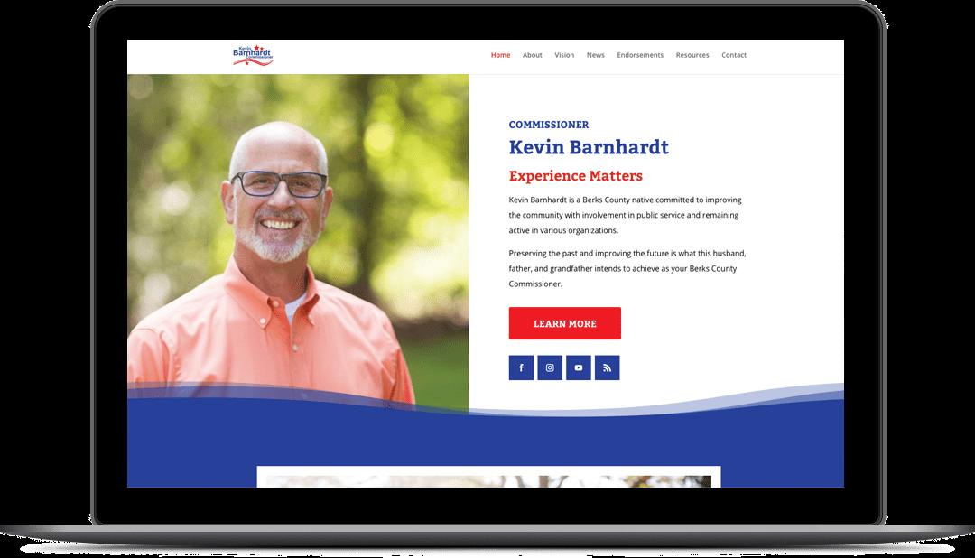 Comm'r Kevin Barnhardt Website