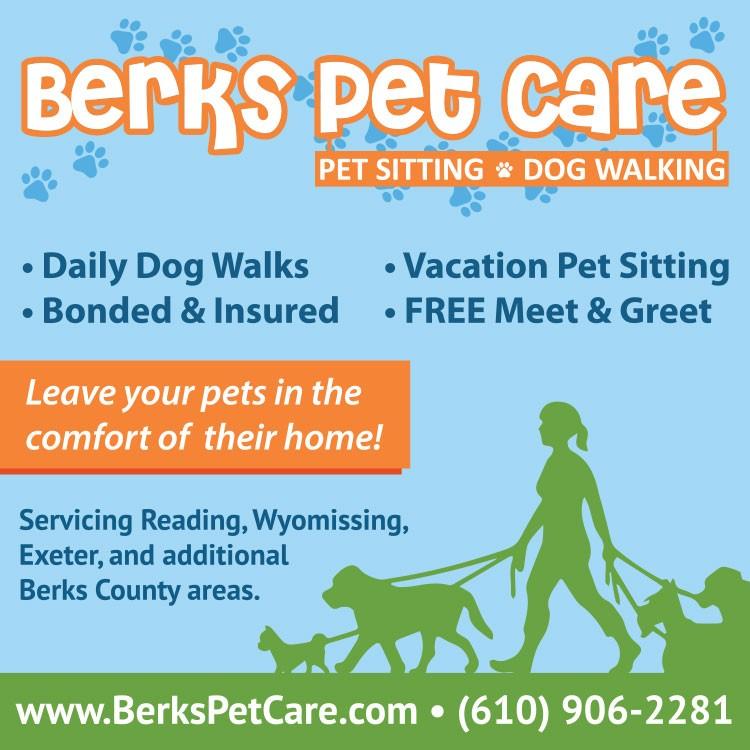 Berks Pet Care Print Advertising
