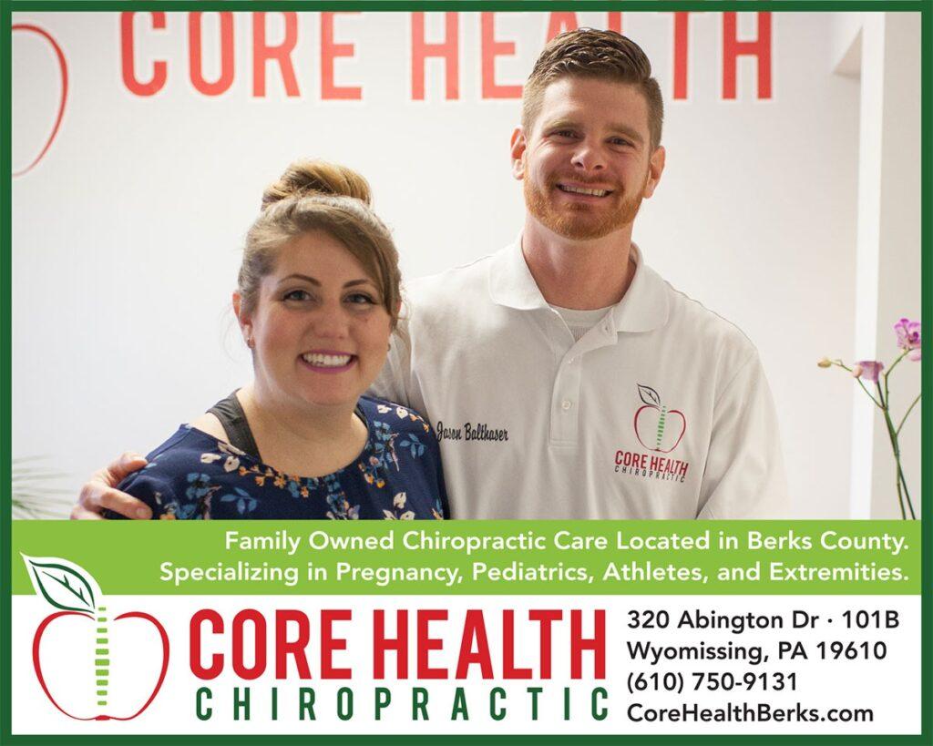 Core Health Chiropractic Print Advertising